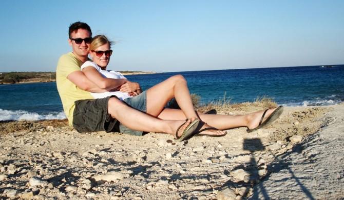 auf den griechischen Kykladen... man beachte den Schatten der Profi Kamera + Stativ