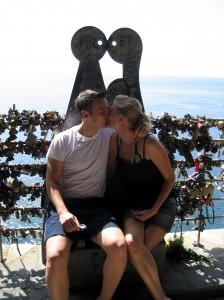 Via del amore, cinque terre, toscane, italien.