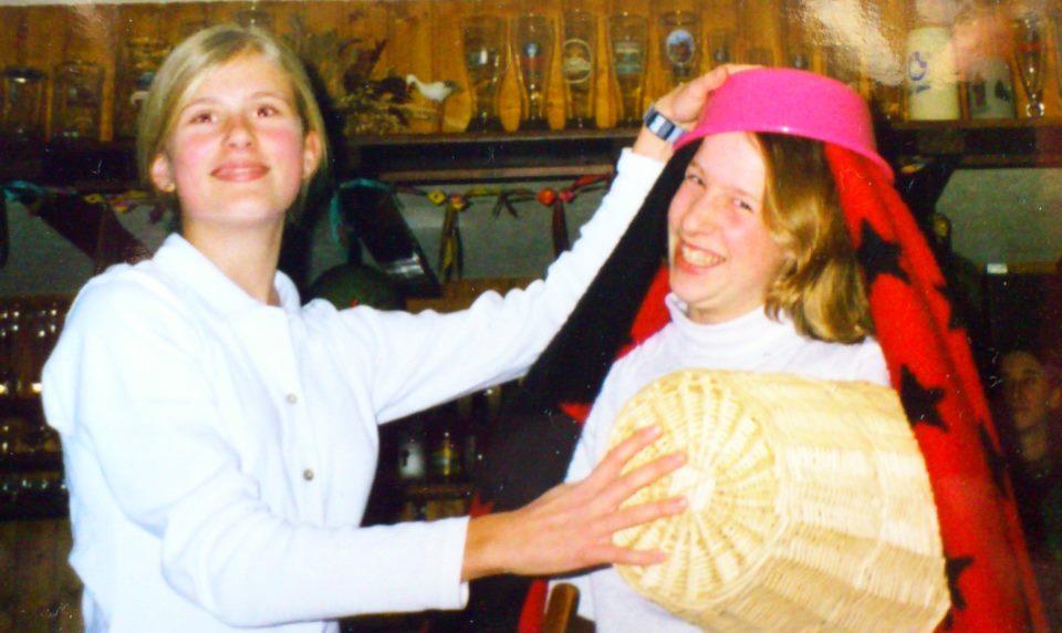 Flashback Moment, Paulette Fotografin mit einer zukünftigen Braut aus Fulda.