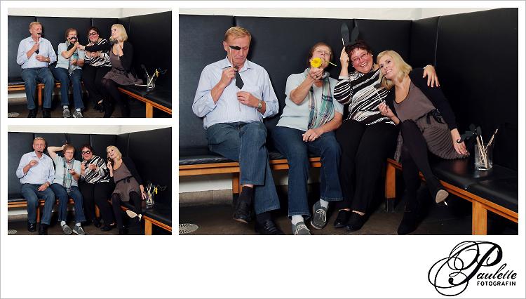 Familien Spass für Alt und Jung im Photobooth zur 30. Geburtstagsfeier Party im Museumskeller Fulda.