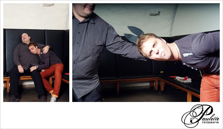 Mein Name ist Hase, die Jungs haben Spass im Photobooth zur 30. Geburtstagsfeier Party im Museumskeller Fulda.