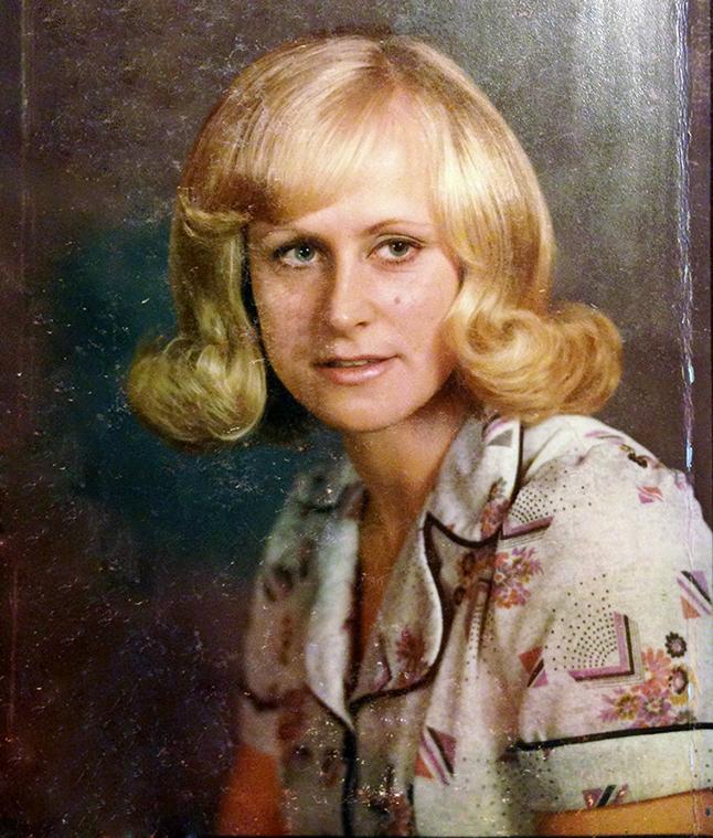60ies Hair blonde Mama.